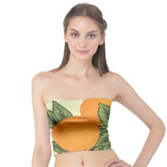Orange Blossoms Tube Top