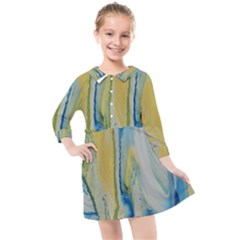 Caribbean Kids  Quarter Sleeve Shirt Dress by WILLBIRDWELL