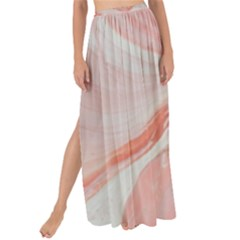 Pink Clouds Maxi Chiffon Tie Up Sarong