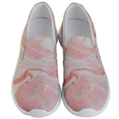 Pink Clouds Men s Lightweight Slip Ons