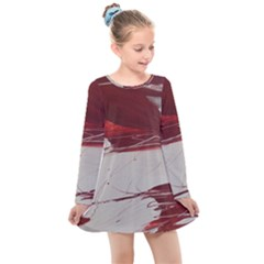 Turmoil Kids  Long Sleeve Dress