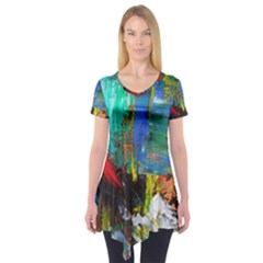 Garden Short Sleeve Tunic