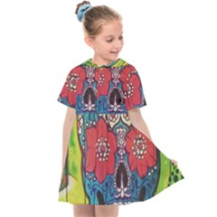 Mexican Skull Kids  Sailor Dress