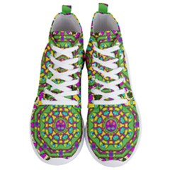 Cool Colors To Love And Cherish Men s Lightweight High Top Sneakers