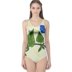 Morning Glory One Piece Swimsuit