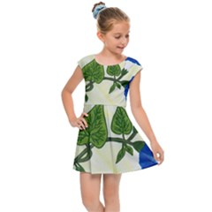 Morning Glory Kids Cap Sleeve Dress