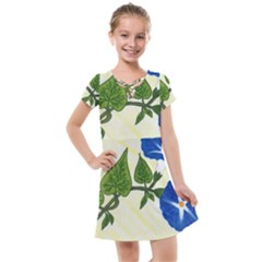 Morning Glory Kids  Cross Web Dress