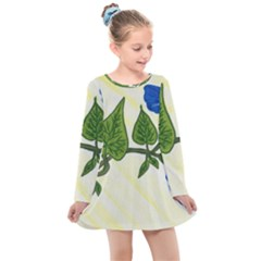 Morning Glory Kids  Long Sleeve Dress