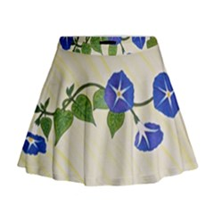 Morning Glory Mini Flare Skirt