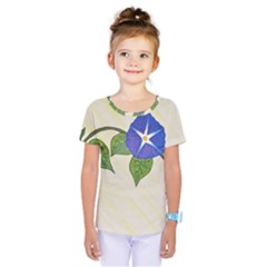 Morning Glory Kids  One Piece Tee