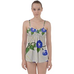 Morning Glory Babydoll Tankini Set