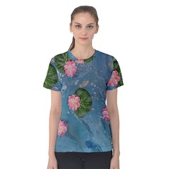 Water Lillies Women s Cotton Tee