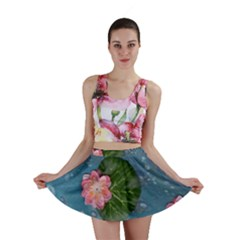 Water Lillies Mini Skirt