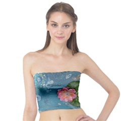 Water Lillies Tube Top