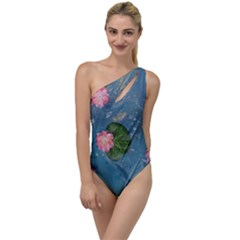 Water Lillies To One Side Swimsuit