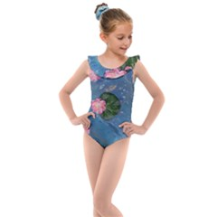 Water Lillies Kids  Frill Swimsuit