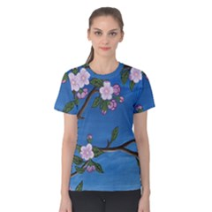 Cherry Blossoms Women s Cotton Tee