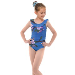 Cherry Blossoms Kids  Frill Swimsuit