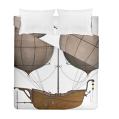 Air Ship 1300078 1280 Duvet Cover Double Side (full/ Double Size) by vintage2030