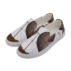Air Ship 1300078 1280 Women s Canvas Slip Ons by vintage2030
