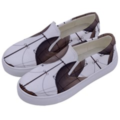 Air Ship 1300078 1280 Kids  Canvas Slip Ons by vintage2030