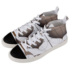 Air Ship 1300078 1280 Men s Mid Top Canvas Sneakers by vintage2030
