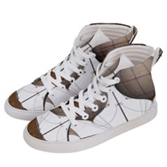Air Ship 1300078 1280 Men s Hi Top Skate Sneakers by vintage2030