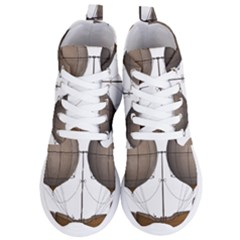 Air Ship 1300078 1280 Women s Lightweight High Top Sneakers by vintage2030