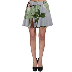 Lunar Moths Skater Skirt