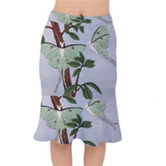 Lunar Moths Mermaid Skirt