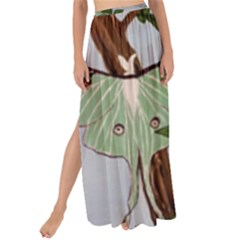 Lunar Moths Maxi Chiffon Tie Up Sarong