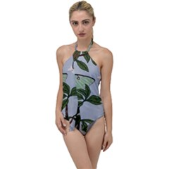 Lunar Moths Go With The Flow One Piece Swimsuit