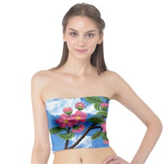 Cherry Blossoms Tube Top