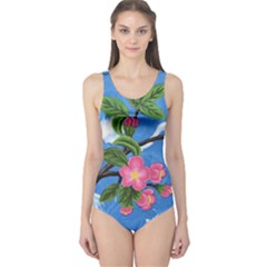 Cherry Blossoms One Piece Swimsuit