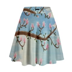 Magnolias High Waist Skirt