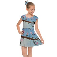 Magnolias Kids Cap Sleeve Dress
