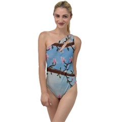 Magnolias To One Side Swimsuit