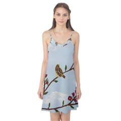 Robin On Plumb Tree Camis Nightgown