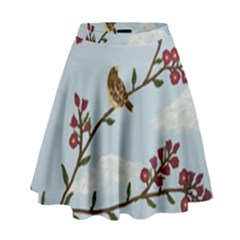Robin On Plumb Tree High Waist Skirt
