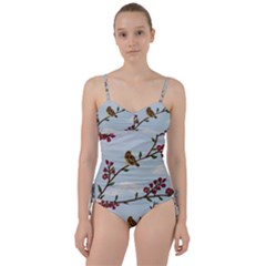 Robin On Plumb Tree Sweetheart Tankini Set