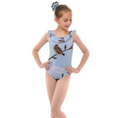 Robin On Plumb Tree Kids  Frill Swimsuit