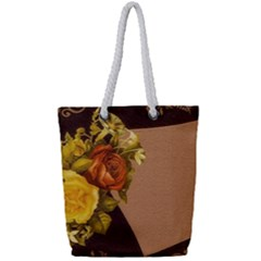 Place Card 1954137 1920 Full Print Rope Handle Tote (small) by vintage2030