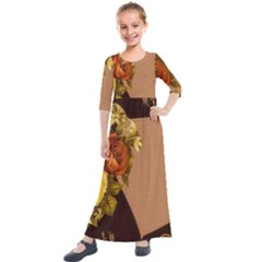 Place Card 1954137 1920 Kids  Quarter Sleeve Maxi Dress by vintage2030