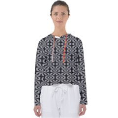 Monochrome Centipede Arabesque Women s Slouchy Sweat