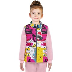 Distorted Shapes                                      Kid s Puffer Vest