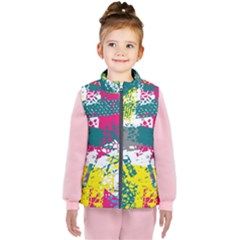 Cracked Shapes                                       Kid s Puffer Vest