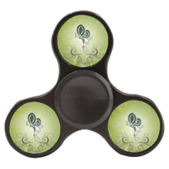 Wonderful Butterlies , Green Colors Finger Spinner by FantasyWorld7