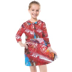 Graden 3 Kids  Quarter Sleeve Shirt Dress