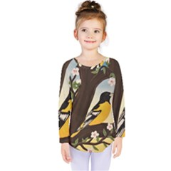 Oriole Kids  Long Sleeve Tee