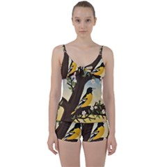 Oriole Tie Front Two Piece Tankini